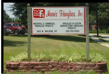 Moore's Fiberglass Inc    Custom Manufactured Fiberglass